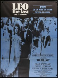 2z1007 LEO THE LAST French 1p 1970 Marcello Mastroianni, directed by John Boorman, different image!