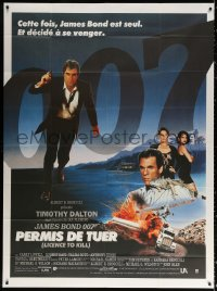 2z1014 LICENCE TO KILL French 1p 1989 Timothy Dalton as James Bond 007, he's out for revenge!