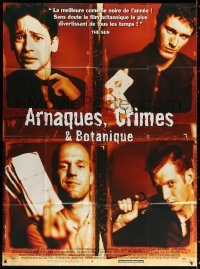2z1018 LOCK, STOCK & TWO SMOKING BARRELS French 1p 1998 Guy Ritchie's first movie, Jason Statham!