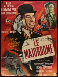 2z1029 MAJORDOMO French 1p 1965 directed by Jean Delannoy, Georges Allard art of Paul Meurisse!