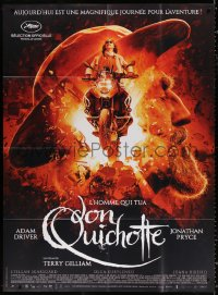 2z1035 MAN WHO KILLED DON QUIXOTE French 1p 2018 Adam Driver, Jonathan Pryce, Terry Gilliam directed