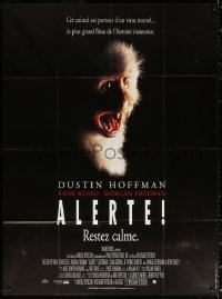 2z1077 OUTBREAK French 1p 1995 Wolfgang Petersen, differnet image of monkey infected with Ebola!