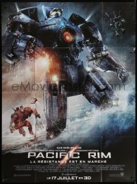 2z1079 PACIFIC RIM advance French 1p 2013 Guillermo del Toro sci-fi, giant robots battle kaiju!