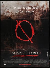 2z1163 SUSPECT ZERO French 1p 2005 Aaron Eckhart, Ben Kingsley, Carrie-Anne Moss, who's next?