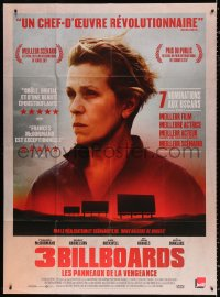 2z1182 THREE BILLBOARDS OUTSIDE EBBING, MISSOURI French 1p 2018 Best Actress Frances McDormand!