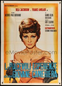 2z0672 SERVANT Italian 1p 1970 different art of sexy naked France Anglade, La Servante, very rare!