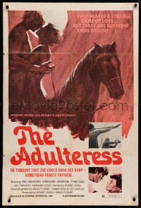 3a0747 ADULTERESS 1sh 1973 e thought that she could loan her body - something purely physical, rare!