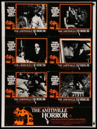3a0732 AMITYVILLE HORROR Aust LC poster 1979 James Brolin, Margot Kidder, for God's sake get out!