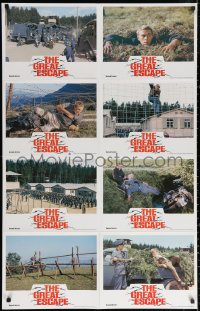 3a0733 GREAT ESCAPE Aust LC poster R1981 Charles Bronson, Richard Attenborough, different images!