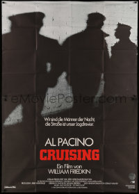 3a0086 CRUISING German 2p 1980 William Friedkin, undercover cop Al Pacino pretends to be gay!
