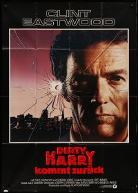 3a0108 SUDDEN IMPACT German 33x47 1983 Clint Eastwood is at it again as Dirty Harry, great image!
