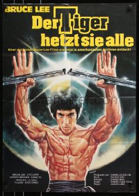 3a0159 ENTER THE PANTHER German 1976 different and misleading Enzo Sciotti of Bruce Lee!
