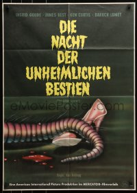 3a0188 KILLER SHREWS German 1962 classic horror art of all that was left after the monster attack!
