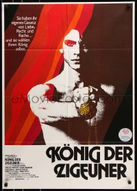 3a0189 KING OF THE GYPSIES German 1978 different close up of Eric Roberts in his first leading role!