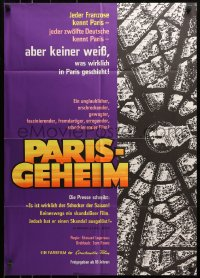 3a0220 PARIS SECRET German 1965 the most shocking motion picture you have ever seen!