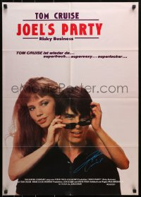 3a0228 RISKY BUSINESS German 1983 Tom Cruise & sexy prostitute Rebecca De Mornay in Joel's Party!
