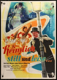 3a0240 SECRETLY STILL & QUIET German 1953 Hans Deppe's Heimlich, Still Und Leise, great art!