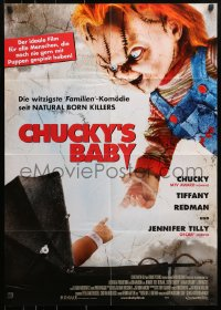 3a0242 SEED OF CHUCKY German 2005 Brad Dourif, Jennifer Tilly, fear the second coming!