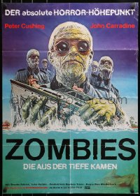 3a0244 SHOCK WAVES German 1977 Nazi ocean zombies terrorizing boat, once they were ALMOST human