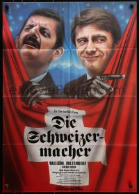 3a0251 SWISSMAKERS German 1980 Die Schweizermacher, different art of Emil Steinberger and Walo Luond!