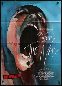 3a0265 WALL German 1982 Pink Floyd, Roger Waters, classic Gerald Scarfe rock & roll art!