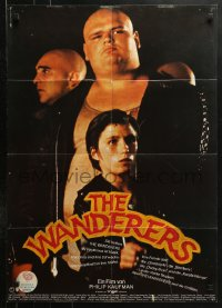 3a0266 WANDERERS German 1979 different images from Kaufman New York City teen gang cult classic!