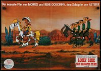 3a0272 BALLAD OF DALTON German 16x23 1978 Lucky Luke, completely different art of prisoners!