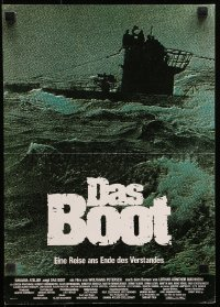 3a0274 DAS BOOT German 12x19 1981 The Boat, Wolfgang Petersen German World War II submarine classic!