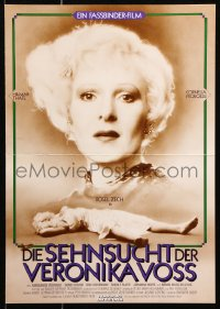 3a0277 VERONIKA VOSS 2-sided German 12x19 1982 Rainer Werner Fassbinder, Zech unconscious by needle!