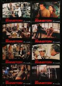 3a0279 BRAINSTORM German LC poster 1983 Christopher Walken, Natalie Wood, the ultimate experience!