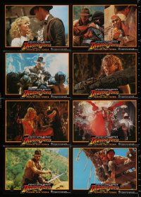 3a0288 INDIANA JONES & THE TEMPLE OF DOOM #1 German LC poster 1984 adventure is his name, different!