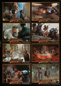 3a0290 INDIANA JONES & THE TEMPLE OF DOOM #3 German LC poster 1984 adventure is his name, different!