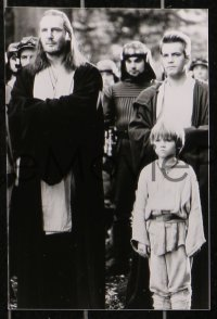 3a0010 PHANTOM MENACE 8 Swiss 4.75x7 stills 1999 McGregor, Portman, Lucas, Star Wars Episode I!