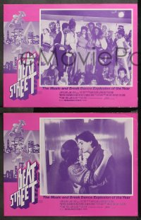 3a0737 BEAT STREET 7 Aust LCs 1984 Rae Dawn Chong in the hip-hop break dance explosion!