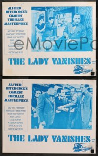 3a0739 LADY VANISHES 4 Aust LCs R1970s Alfred Hitchcock, Margaret Lockwood, Michael Redgrave