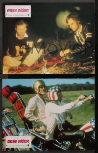 3a0084 EASY RIDER 3 French LCs R1970s Peter Fonda, motorcycle biker classic directed by Dennis Hopper