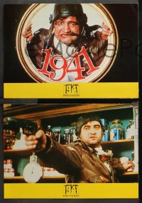 3a0021 1941 12 Spanish LCs 1980 Spielberg, different images of John Belushi, Dan Aykroyd & cast!