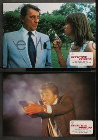 3a0024 BIG SLEEP 12 Spanish LCs 1978 different images of Robert Mitchum & sexy Candy Clark!