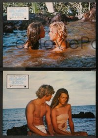 3a0026 BLUE LAGOON 12 Spanish LCs 1981 sexy young Brooke Shields & Atkins, different & rare!