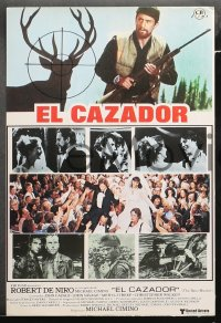 3a0028 DEER HUNTER 12 Spanish LCs 1979 directed by Michael Cimino, Robert De Niro, different!