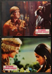 3a0031 MAN CALLED HORSE 12 Spanish LCs 1970 Richard Harris as Sioux Native American Indian warrior!