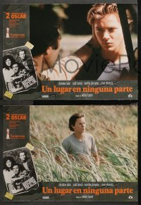 3a0033 RUNNING ON EMPTY 12 Spanish LCs 1989 River Phoenix, Judd Hirsch, & Christine Lahti!
