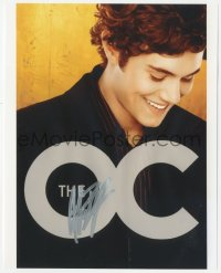 3f0950 ADAM BRODY signed color 8x10 REPRO still 2000s he was Seth Cohen in TV's The O.C.!
