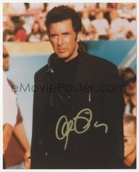 3f0952 AL PACINO signed color 8x10 REPRO still 2000s close up as football coach in Any Given Sunday!
