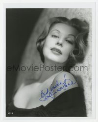3f0960 ARLENE DAHL signed 8x10 REPRO still 1990 sexy close up laying on fur rug in strapless dress!