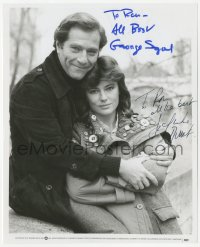 3f0764 WHO IS KILLING THE GREAT CHEFS OF EUROPE signed 8x10 still 1978 by Segal & Jacqueline Bisset!