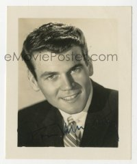 3f0900 DON MURRAY signed 3x3 photo 1950s great head & shoulders portrait early in his career!