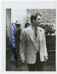 3f0923 MARK HARMON signed 6x7 photo 1990s close up wearing suit & tie in a movie scene!