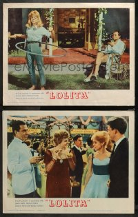 3g0733 LOLITA 2 LCs 1962 Stanley Kubrick, images of Sue Lyon with James Mason & Shelley Winters!