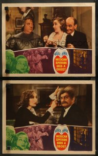 3g0739 MEXICAN SPITFIRE SEES A GHOST 2 LCs 1942 Lupe Velez & Leon Errol in a haunted house!